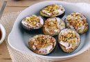 Higos al balsámico con queso y pistachos